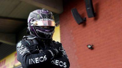Photo of Lewis Hamilton domina en Bélgica y lo dedica a Chadwick Boseman
