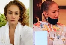 Photo of Las dos caras de Jennifer Lopez: al natural, o maquillada y peinada