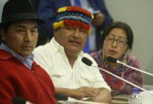 Photo of Leonidas Iza y Jaime Vargas declinan sus precandidaturas para las primarias de Pachakutik