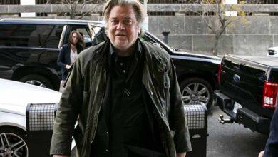 """Photo of Steve Bannon, ex estratega de Trump, detenido por """"millonario fraude"""" a donantes para el muro con México"""