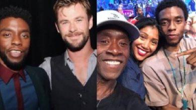 Photo of Así rindieron homenaje los 'Avengers' a Chadwick Boseman
