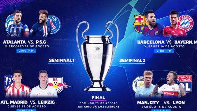 Photo of Fechas y horarios de los Cuartos de final en la UEFA Champions League