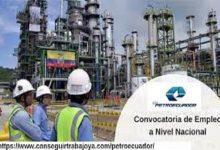 Photo of Trabajos de cambio de tubería para transportar Cutter Stock a Refinería Esmeraldas tienen un avance del 81%