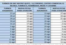Photo of Agencia Nacional de Tránsito retoma actividades presenciales desde el 11 de agosto
