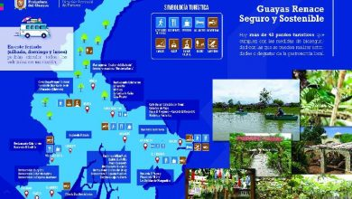 Photo of Guayas reactiva su oferta turística bajo medidas de bioseguridad, en este feriado
