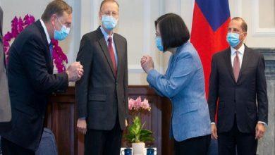 Photo of Presidenta de Taiwán se reúne con ministro de Salud de EE.UU.