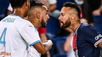 Photo of Con cinco expulsiones: PSG cae en el clásico ante el Olympique de Marsella