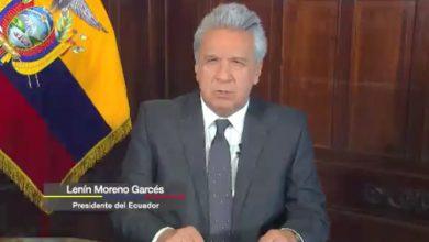 """Photo of """"Nuestros pueblos demandan la cooperación para hacerte frente a los desafios económicos y sociales de la etapa pos-COVID"""", presidente Lenín Moreno"""