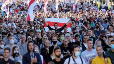 Photo of Más de 100.000 personas protestan contra Lukashenko en Minsk