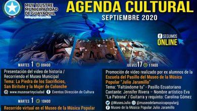Photo of Agenda cultural del mes de septiembre 2020