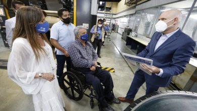 Photo of Lenín Moreno, visitó las instalaciones de diario El Universo, con motivo de la conmemoración de su 99° aniversario de fundación