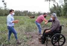 Photo of Gobierno visita zonas afectadas por la ceniza del volcán Sangay y anuncia medidas de apoyo para los agricultores y ganaderos