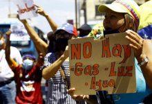 Photo of Aumentan protestas en Venezuela por fallos en servicios públicos