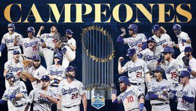 Photo of MLB: ¡32 años después, los Dodgers son campeones!