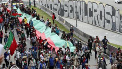 Photo of Alcaldesa de Bogotá recibe a la marcha indígena y pide a Duque que los escuche