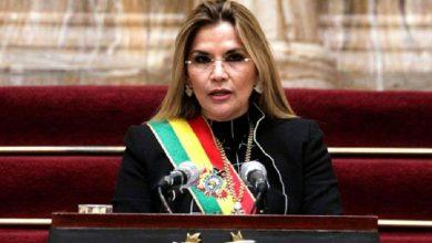 """Photo of Jeanine Áñez felicitó a Luis Arce: """"Les pido gobernar pensando en Bolivia y en la democracia"""""""