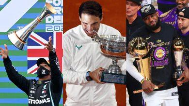 Photo of LeBron, Nadal, Hamilton… Los astros del deporte se alinean en 24 horas para la historia
