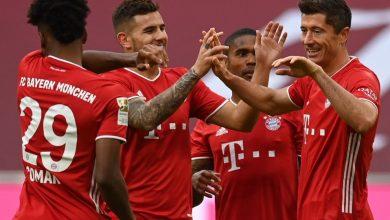 Photo of Roberth Lewandowski marca triplete en goleada del Bayern sobre el Frankfurt