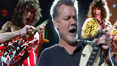 Photo of A subasta dos guitarras del músico Eddie Van Halen
