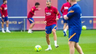 Photo of Jordi Alba es la gran novedad de la convocatoria del FCBarcelona para el Clásico