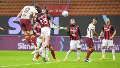 Photo of Doblete de Zlatan, lluvia de goles y empate entre Milan y Roma