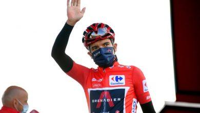 Photo of Richard Carapaz pierde el malliot rojo en la Vuelta a España