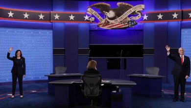 Photo of Manejo de pandemia dominó debate «civilizado» Harris-Pence