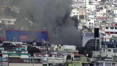 Photo of Incendio estructural deja daños materiales en restaurante en el norte de Quito este sábado 24 de octubre; las causas son investigadas