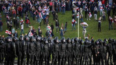 Photo of Nuevas protestas contra Lukashenko pese a fuerte presencia policial