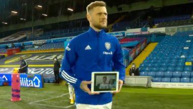 Photo of El conmovedor gesto del capitán del Leeds con un fanático de 13 años con cáncer