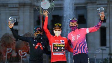 Photo of Richard Carapaz llegó a Madrid para subirse al podio en La Vuelta a España