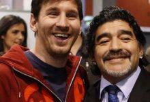 """Photo of """"Diego es eterno"""", la emotiva despedida de Lionel Messi"""