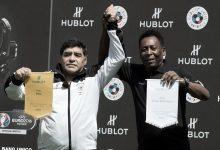 Photo of Pelé llora la muerte de Maradona: Un día jugaremos juntos en el cielo amigo