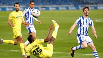 Photo of Real Sociedad y Villarreal de Pervis Estupiñán se reparten los puntos