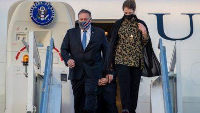 Photo of Pompeo llega a Emiratos Árabes Unidos