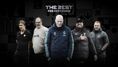 Photo of Los cinco entrenadores nominados al premio The Best