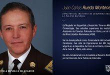 Photo of Juan Carlos Rueda Montenegro es el nuevo Director del ISSPOL