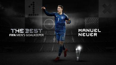 Photo of Manuel Neuer gana el premio The Best como el mejor arquero