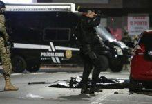 Photo of Brasil: 30 hombres fuertemente armados asaltan banco con rehenes, tiros, explosivos y aterrorizan a la población