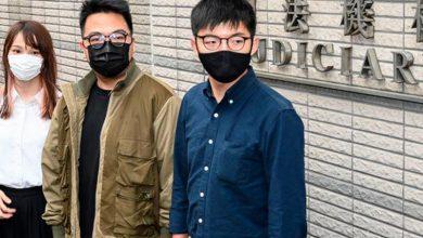 Photo of Condenan a cárcel a Joshua Wong y otros dos líderes prodemocracia por protesta en Hong Kong