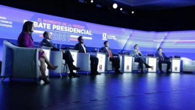 Photo of Seis candidatos presidenciales cierran el debate de la CCG