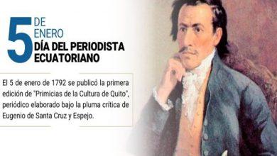 Photo of Hoy se celebra el Día del Periodista Ecuatoriano