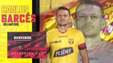 """Photo of Carlos Garcés y su primer mensaje a la hinchada: «Soñaba con Barcelona desde chico"""""""